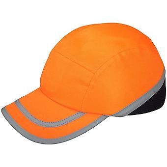 Orange Anstoßkappe / Sicherheitskappe mit ABS-Schale