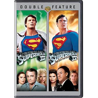 Superman III/Superman IV [DVD] USA importieren