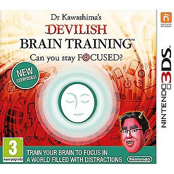 O treinamento cerebral diabólico do Dr. Kawashima pode manter o foco? Jogo 3DS