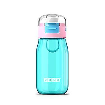 Zoku Zoku Kids Flip Gulp Bottle Teal