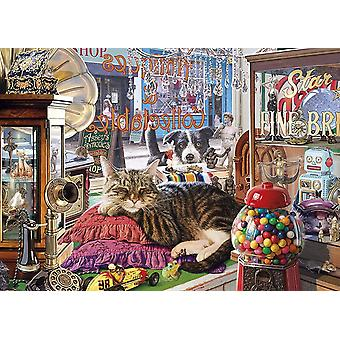 Gibsons Abbey's Antique Shop Jigsaw Puzzle (1000 Pieces)