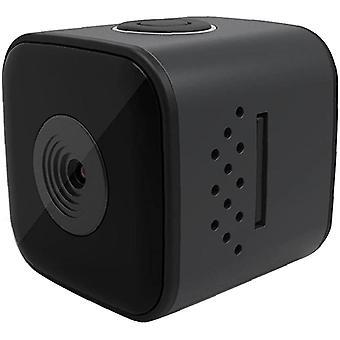 Мини водонепроницаемая портативная наружная камера видеонаблюдения SQ28 1080P HD камера ночного видения (черный)