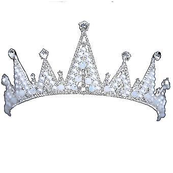 Crown Alloy Rhinestone Jewelry Bride Wedding Tiara
