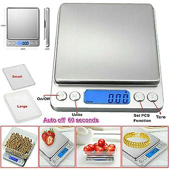 3000g/0.1g Electronic Homehold Digital Weighing Scales Kitchen Cooking Scale