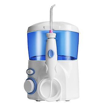 الأسرة خيط المياه عن طريق الفم المروية الأسنان أنظف 600ml خزان المياه الكبيرة مع 9 نصائح متعددة الوظائف