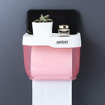 Kannettava kudoslaatikko kylpyhuoneeseen