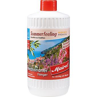 MAIROL البحر الأبيض المتوسط الأسمدة السائل، 1 لتر، شعور الصيف