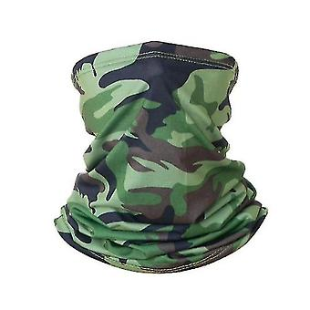 Neck gaiters neck gaiter face cover scarf(green) #683