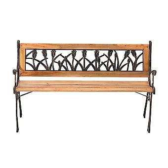 3 Seater Garden Park Bench Outdoor Furniture Seat Benches