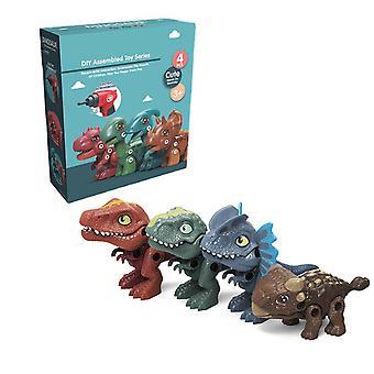 Kid's Take Apart Dinosaur Toys Building Toy Set Construction de perceuse électrique