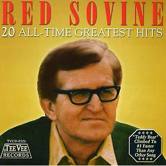 Red Sovine - 20 All-Time Greatest Hits [CD] USA import