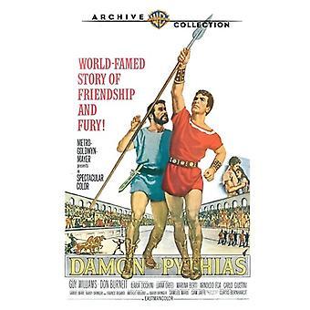 Damon & Pythias (1962) [DVD] USA import