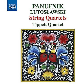 Panufnik / Lutoslawski - String Quartets [CD] USA import