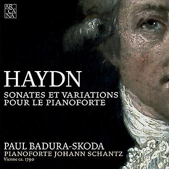 J. Haydn - Haydn: Sonates Et Variations Pour Le Pianoforte [CD] USA import