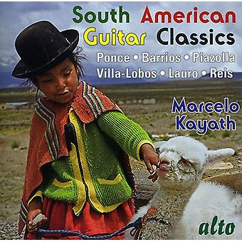 Marcelo Kayath - South American Guitar Classics [CD] USA import