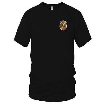 Amerikanske Airborne C Co CCC MACV-SOG - rådgiver - Vietnamkrigen brodert Patch - Mens T-skjorte