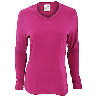 Womens proClimate/Mesdames thermique manches longues col v Top