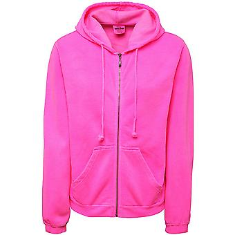 Comfort Colors Womens/Ladies Full Zip Hooded Sweatshirt