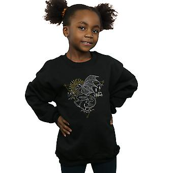 Harry Potter Girls Thestral Line Art Sweatshirt