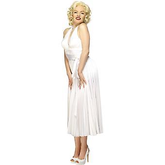 Marilyn Monroe gât Carrier rochie albă