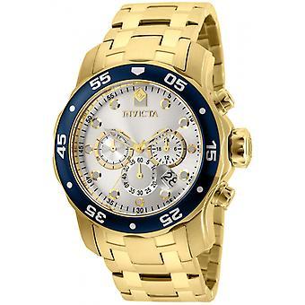 Invicta Pro Diver 80067 acier inoxydable montre chronographe