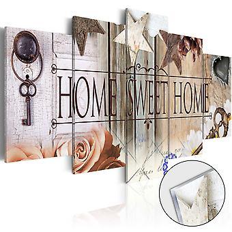 Quadri su vetro acrilico - The Right Key for The Right Door [Glass]