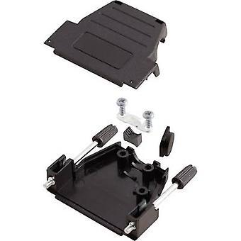 Conectores MHDSSK-P-9-L-K 6260-0107-01 D-SUB carcasa Número de pines: 9 Plástico 180 °, 45 ° Negro 1 ud(s)