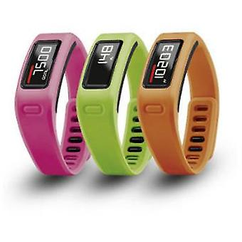 Replacement wrist strap Garmin Vivofit Size (XS - XXL)=S Orange, Pink, Green