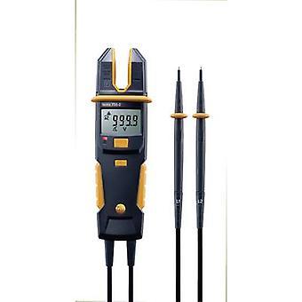 testo 755-2 Handheld multimeter, Clamp meter Digital CAT IV 600 V, CAT III 1000 V Display (counts): 4000