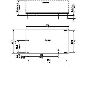 TracoPower TOM 25124 AC/DC PSU (print) 24 V DC 1.1 A 25 W
