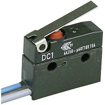 ZF Microswitch DC1C-C3LB 250 V AC 6 A 1 x On/(On) IP67 momentary 1 pc(s)