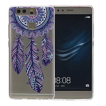Henna Cover für Huawei Nova Case Schutz Hülle Silikon Traumfänger