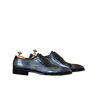 Handcrafted Premium Leather Relo G  Oxford Shoe