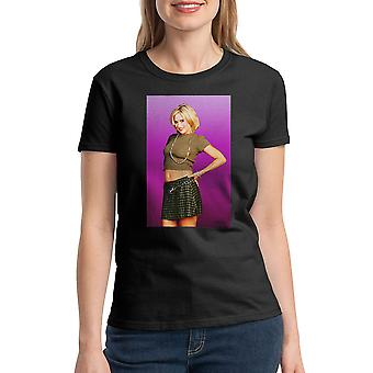 Married With Children Kelly Bundy Women's Black T-shirt