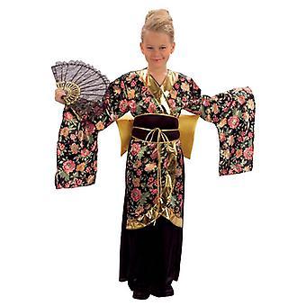 Bnov Geisha Girl Children's Costume