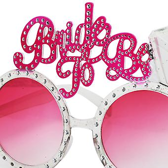 TRIXES Rose Tinted Bride to Be Novelty Hen Night Diva Specs Fun Night Out Glasses