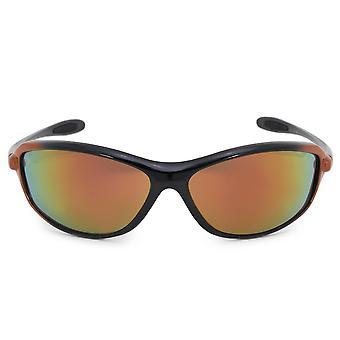 Harley Davidson Rectangle Sunglasses HDS0614 BKOR 66