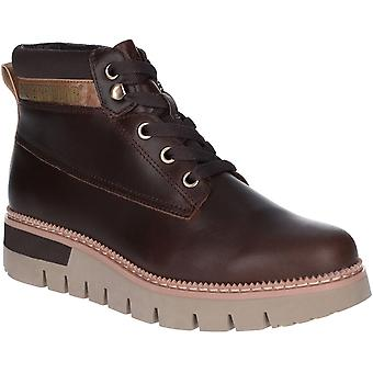 Caterpillar Womens Pastime Durable Leather Laced Ankle Boots