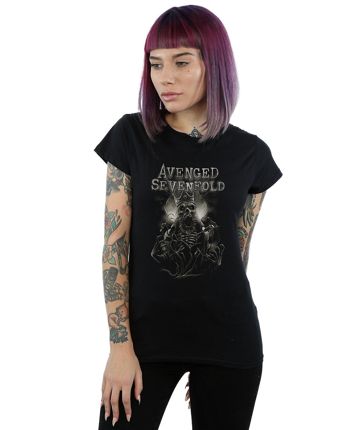 Avenged Sevenfold Women's King Deathbat T-Shirt