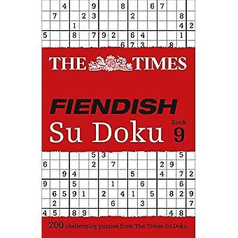 The Times Fiendish Su Doku Book 9