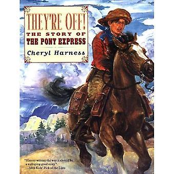 De är av!: historien om Pony Express