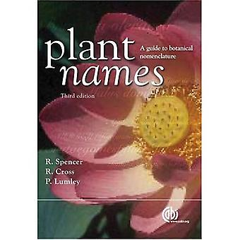 Noms des plantes: Un Guide pour la Nomenclature biologique (Cabi)