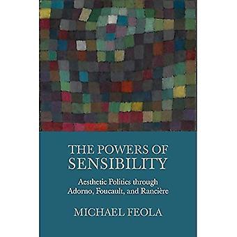 Herkkyys valtuudet: esteettinen politiikka Adorno, Foucault ja Ranciere
