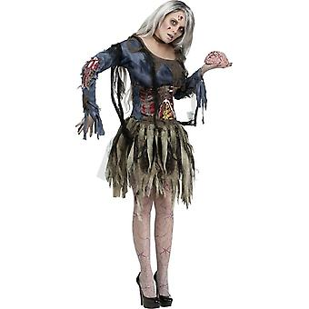 Costume adulte Miss zombie