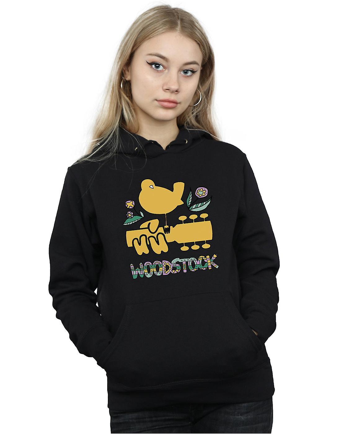 Woodstock Women's Bird Aztec Pattern Hoodie