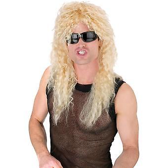 Headbanger Curly Blonde Wig