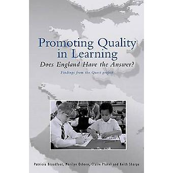 Qualitätsförderung Learning by Broadfoot & Patricia