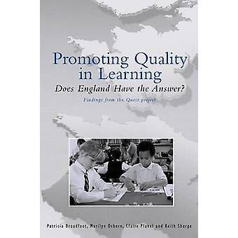 Broadfoot ・ パトリシアの学習における品質を推進
