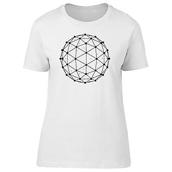 Poligonales esfera Tee hombre-imagen de Shutterstock