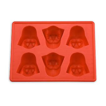 Star Wars Darth Vader ice cube shape and baking red, made of silicone.